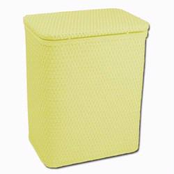 Redmon 721YL Infant and Toddler Wicker Hamper With Bag - Yellow