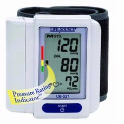LifeSource UB-521 Wrist Blood Pressure Monitor