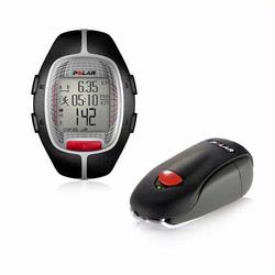 Polar RS-300XSDBK Heart Rate Monitor With S1 Foot Pod For Running Enthusiasts - Black