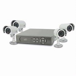 SVAT CLEARVU2 DIY Compact DVR Security System w/ 4 Night Vision Cameras