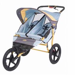 Schwinn 11-KS228 Run Around 2 Double Jogging Stroller - Teal/Dijon