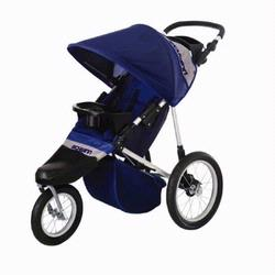 Schwinn 13-SC316 Free Wheeler Swivel Wheel Jogging Stroller - Blue/Grey
