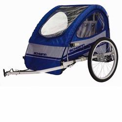 Schwinn 13-SC670 Trailblazer Bicycle Trailer - Blue/Grey