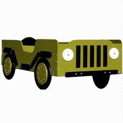 Military Toddler Bed  - Green