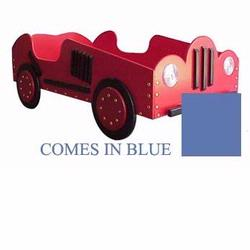 Just Kids Stuff Old Style - Race Car Toddler Bed - Blue