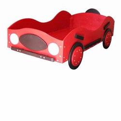 New Style - Race Car Toddler Bed - Red