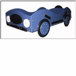 New Style - Race Car Toddler Bed - Blue