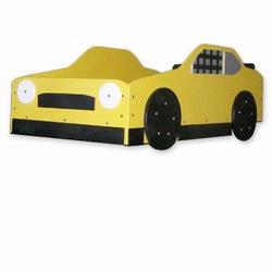 Just Kids Stuff Stock Car Racer Bed Yellow