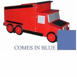 Just Kids Stuff Dumptruck Toy Chest Blue