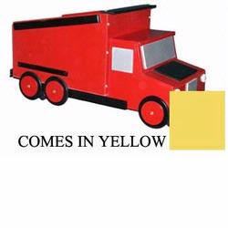 Just Kids Stuff Dumptruck Toy Chest Yellow