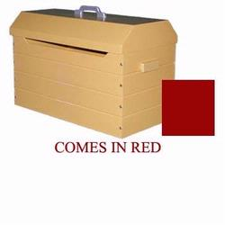 Just Kids Stuff Tool Box Toy Chest Red