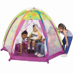 Pacific Play Tents 19305 FUN ZONE WITH TUNNEL HOLE AND 2 SOLID PANNELS