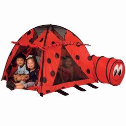 Pacific Play Tents 20420 LADYBUG TENT&TUNNEL COMBINATION