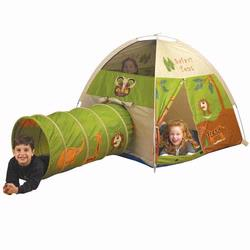 Pacific Play Tents 20435 JUNGLE SAFARI TENT&TUNNEL COMBO