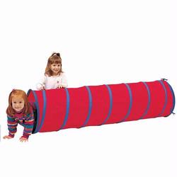 Pacific Play Tents 20510 INSTITUTIONAL 6 FT. TUNNEL - Red/ Blue