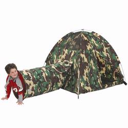 Pacific Play Tents 30415 COMMAND HQ TENT & TUNNEL COMBO