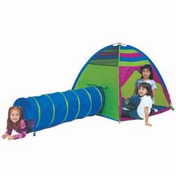 Pacific Play Tents 30416 FIND ME - TENT & TUNNEL COMBINATION - NEON