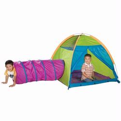 Pacific Play Tents 30514 Play With Me Tent and Tunnel Combination