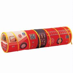 Pacific Play Tents 59200 Fire Engine 6 Foot Tunnel