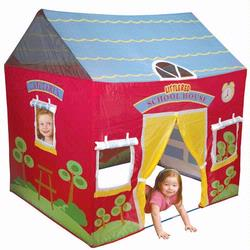 Pacific Play Tents 60500 Little Red School House Play House Tent
