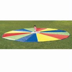 Pacific Play Tents 85-944 30 Foot Parachute With No Handles and Carry Bag