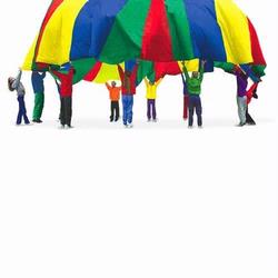 Pacific Play Tents 85-945 35 Foot Parachute With No Handles and Carry Bag