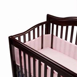 Breathable Baby 10113 Breathable Bumper - Pink
