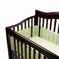 Breathable Baby 10115 Breathable Baby Crib Bumper - Sage