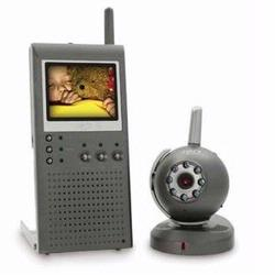 SVAT GX5201 Wireless Portable Video Baby Monitor with 2.5`` LCD and Night Vision Security Camera