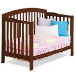 Atlantic Furniture 98004 Richmond Convertible Crib - Antique Walnut
