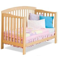 Atlantic Furniture 98005 Richmond Convertible Crib - Natural Maple