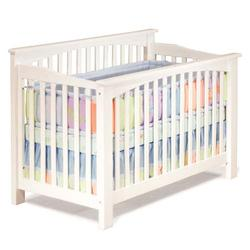 Atlantic Furniture 98302 Columbia Convertible Crib - White