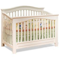 Atlantic Furniture 98102 Windsor Convertible Crib - White