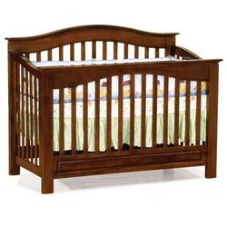 Atlantic 98104 Furniture Windsor Convertible Crib - Antique Walnut