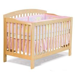 Atlantic Furniture 98105 Windsor Convertible Crib - Natural Maple