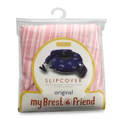 MyBrestFriend 813 Pink Stripe Nursing Pillow Slip Cover