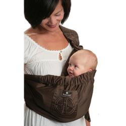 Balboa Baby 71002 Dr. Sears Adjustable Sling - Signature Brown with Embroidery