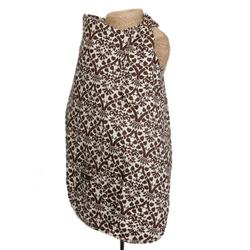 Balboa Baby 10006 Nursing Cover - Coco - Brown & White