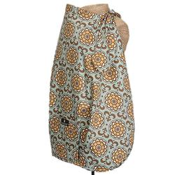 Balboa Baby 10007 Nursing Cover - Suri Blue & Yellow