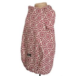 Balboa Baby 10017 Nursing Cover - Apple Red & White