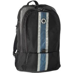 DadGear BPCSBU Backpack Style Diaper Bag - Blue Center Stripe