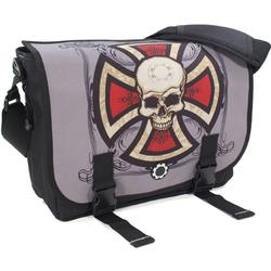DadGear MBGACS DadGear Messenger Bag - Cross & Skull