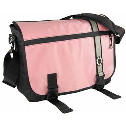 DadGear MBRSPK  Messenger Diaper Bag - Pink Retro Stripe