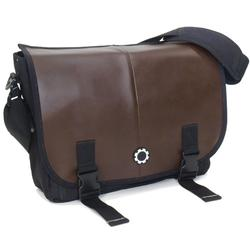 DadGear MBPRCB Messenger Diaper Bag - Brown Professional