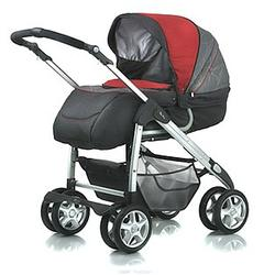 Silver Cross 2105LS Linear Freeway Pram, Salsa - Open Box