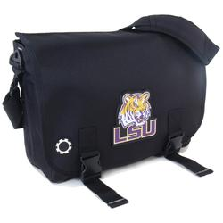 DadGear MBCLLS Messenger Diaper Bag - Lousiana State University