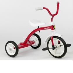 Italtrike 9019S Speedy Small 10 inch Tricycle - Pony Red