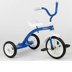 Italtrike 9019M Speedy Medium 12 Inch Tricycle - Pony Blue