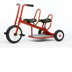 Italtrike 9002 Carry Small Double Seat Tricycle