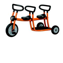 Italtrike 20010 Orange Tricycle, 2 seats